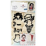 Docrafts Postal Summer Days, Gorjuss Santoro Decorative Dies,  9 Pieces (GO503007)