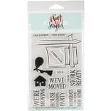 Neat & Tangled Welcome Home Clear Stamps, 4 X 6 (NAT278)