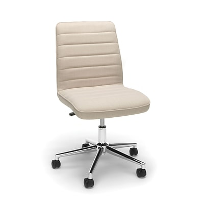 Essentials by OFM Mid Back Chair, Tan (ESS-2080-TAN)