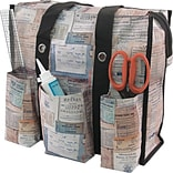 Advantus Tim Holtz Storage Studios Documentation Shoulder Tote, 1.25 x 14.5 x 14.5 (CH93802)