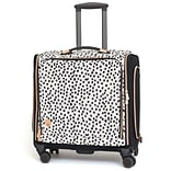 We R Memory Keepers 360 Crafters Rolling Bag-Rose Gold Dalmatian (663080)