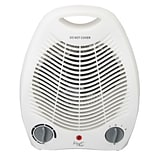 Vie Air 1500W Portable 2 Setting Fan Heater Black VA-207C)