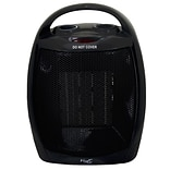 Vie Air 1500W Portable 2 Setting Fan Heater Black (VA-708B)