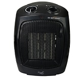Vie Air 1500W Portable 2 Setting Fan Heater Black (VA-603A)