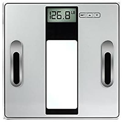 Vivitar Body Analysis Digital Scale, Silver 330Lbs. (PS-V162-SIL)