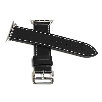 MGear Leather Strap for Apple Watch 42MM in Black (93599790M)