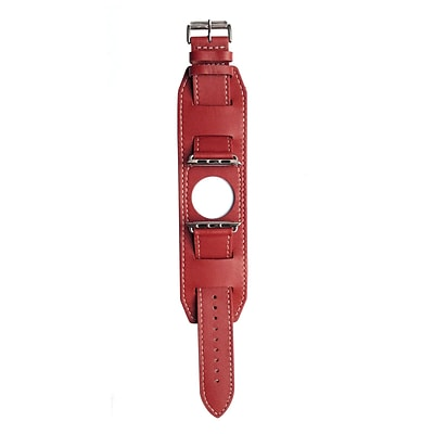 MGear Leather Band for 38MM Apple Watch in Red (93599786M)
