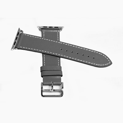 MGear Leather Strap for Apple Watch 42MM in Gray (93599792M)
