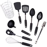Gibson Chefs Better Basics 9pc Tool Set with Round Shape Wire Caddy (92104.09)