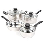 Sunbeam Alvordton 7-Piece Mirror Polish Cookware Set (93586653M)