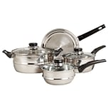 Sunbeam Gibson Sunbeam Ridgeline Stainless Steel 7-Piece Cookware Set (93586654M)