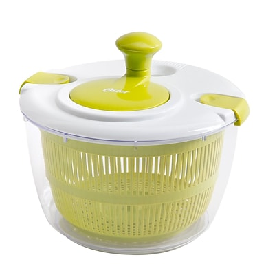 Oster Kitchen Artistry Salad Spinner, Lime Green (92106.03)