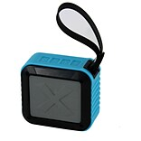 All Of The Best AOB Bluetooth Hydracube Water Resistant Speaker with Rubber Handle, Blue (935102514M