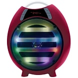 Qfx QFX 6.5 Bluetooth Rechargeable Party Speaker, Red (935102223M)