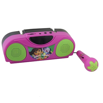 Dora And Friends Dora the Explorer Portable Radio Karaoke Kit With Microphone (935100455M)