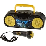 Dc Comics Batman Portable Radio Karaoke Kit With Microphone (93597437M)