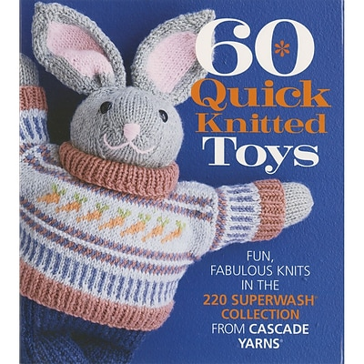 Sterling Publishing 60 Quick Knitted Toys Sixth & Springs Books (SSB-21445)
