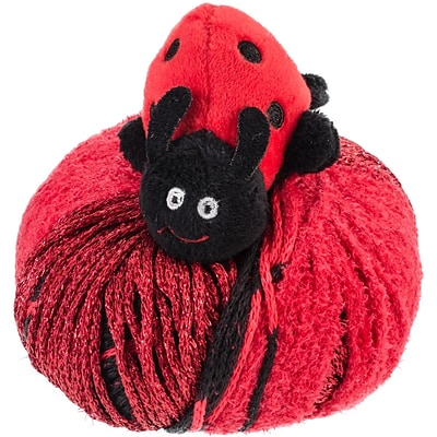 DMC Top This! Special FX Yarn, Ladybug, Metallic (TTYFX-16LB)