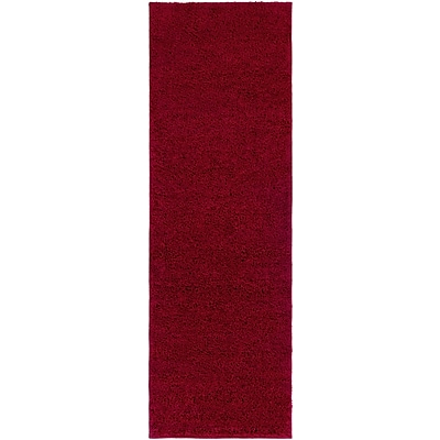Surya Arlie Polypropylene 27 x 8 Runner Red Rug (ARE9001-278)