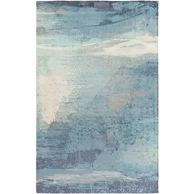 Surya Felicity Polyester 5 x 76 Blue Rug (FCT8000-576)