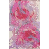 Surya Felicity Polyester 8 x 10 Pink Rug (FCT8002-810)