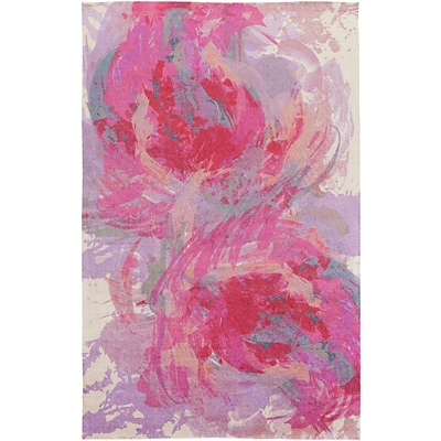 Surya Felicity Polyester 4 x 6 Pink Rug (FCT8002-46)