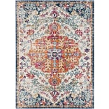 Surya Harput Polypropylene 27 x 103 Runner Orange Rug (HAP1000-27103)