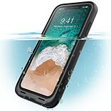 I-Blason Halo Series Clear Case for Apple IPhone X, Clear (IPHX-HALO-CLR)
