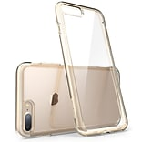 I-Blason Halo Clear Case for IPhone 8 Plus, Clear/Gold(IPH8P-HALO-C/GD)