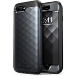 Clayco Hera Case for Iphone 8 Plus, Black (CL-IPH8P-HRA-BK)