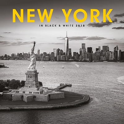 2018 Turner Photographic 12x12 New York Black and White Wall Calendar (18998027305)