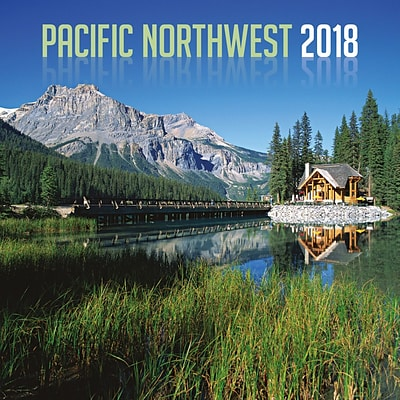 2018 Turner Photographic 12x12 Pacific Northwest Wall Calendar (18998940041)