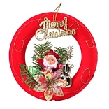 Red Santa Claus Christmas Ornament Merry Christmas (ORNSAC202)