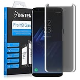 Insten 9H Hardness Ultra Thin Privacy Anti-Spy Tempered Glass Screen Protector For Samsung Galaxy S8