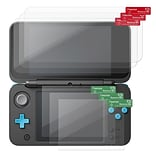 Insten 3-Pack Anti-Scratch Clear Screen Protector Guard Film Shield Cover for New Nintendo 2DS XL