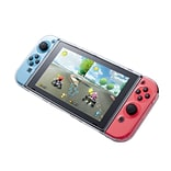 Insten Fully Protected Strong Durable 3 Part Design Clear Crystal Case for Nintendo Switch Console &