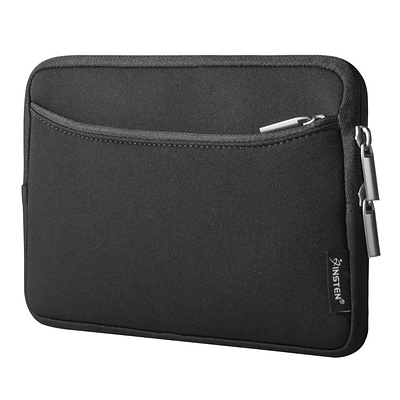 Insten Shockproof Sleeve Pouch Double Zipper Bag Protective Soft Case Cover for 7 Notebook / Laptop / Tablet - Black