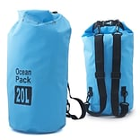 Zodaca 20L Waterproof Outdoor Adventure Dry Bag Backpack for Kayaking Boating Floating Swimming Camp