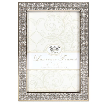 Lawrence Frames 4W x 6H Turner Gold and Glitter Metal Picture Frame (702446)