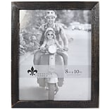Lawrence Frames 8W x 10H Charlotte Weathered Black Wood Picture Frame (745580)
