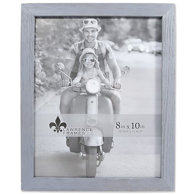 Lawrence Frames 8W x 10H Charlotte Weathered Gray Wood Picture Frame (745680)