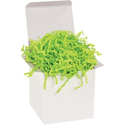 LUX Crinkle Paper 5/40 lb. Boxes, Lime Green (MIR-TP40L-BP-5)