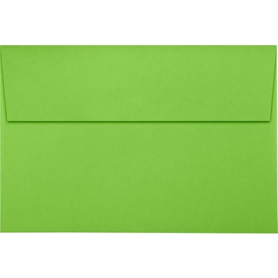 LUX A10 Invitation Envelopes (6 x 9 1/2) 1000/Pack, Limelight (LUX-4590-101-1M)