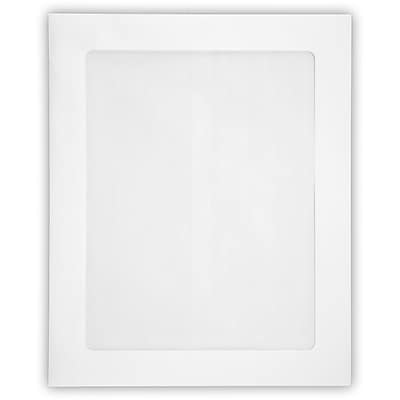 LUX 8 1/2 x 10 1/2 Head Shot Envelopes 500/Pack, White (4892FFW-80W-500)