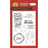 Echo Park Paper Give Thanks, Coordinates W/HF70044 Carta Bella Stamp, 4 x 6 (HF70045)