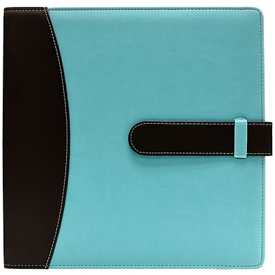 Ultra PRO Blue With Black 3-Ring Photo Album & Scrapbook, 8.5 x 11 (58400)