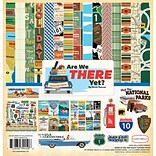 Echo Park Paper Are We There Yet? Carta Bella Collection Kit, 12 x 12 (AW67016)
