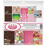 Reminisce Candy Shop, 8 Papers & Stickers Collection Kit, 12 x 12 (CSH200)