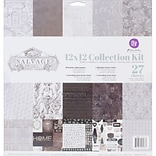 Prima Marketing Salvage District Collection Kit, 12 x 12 (584337)
