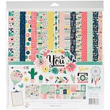 Echo Park Paper Just Be You Collection Kit, 12 x 12 (JBY19016)